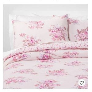 Simply Shabby Chic®Bouquet ComforterSet Pink Blush